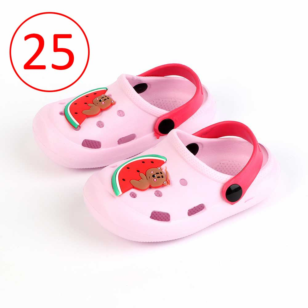 Kids Slippers Size 25 Color Light Pink متجر 15 وأقل