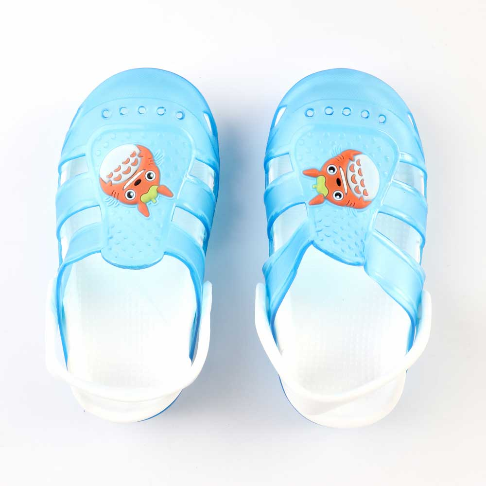 Kids Slippers that lights up Size 26 Color Blue متجر 15 وأقل