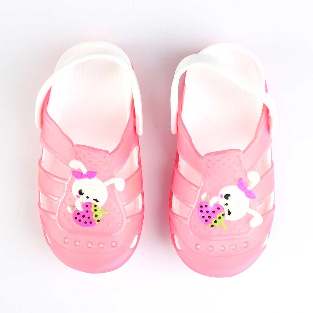 حذاء كروكس للأطفال مضيئة مقاس 27 لون وردي متجر 15 وأقل