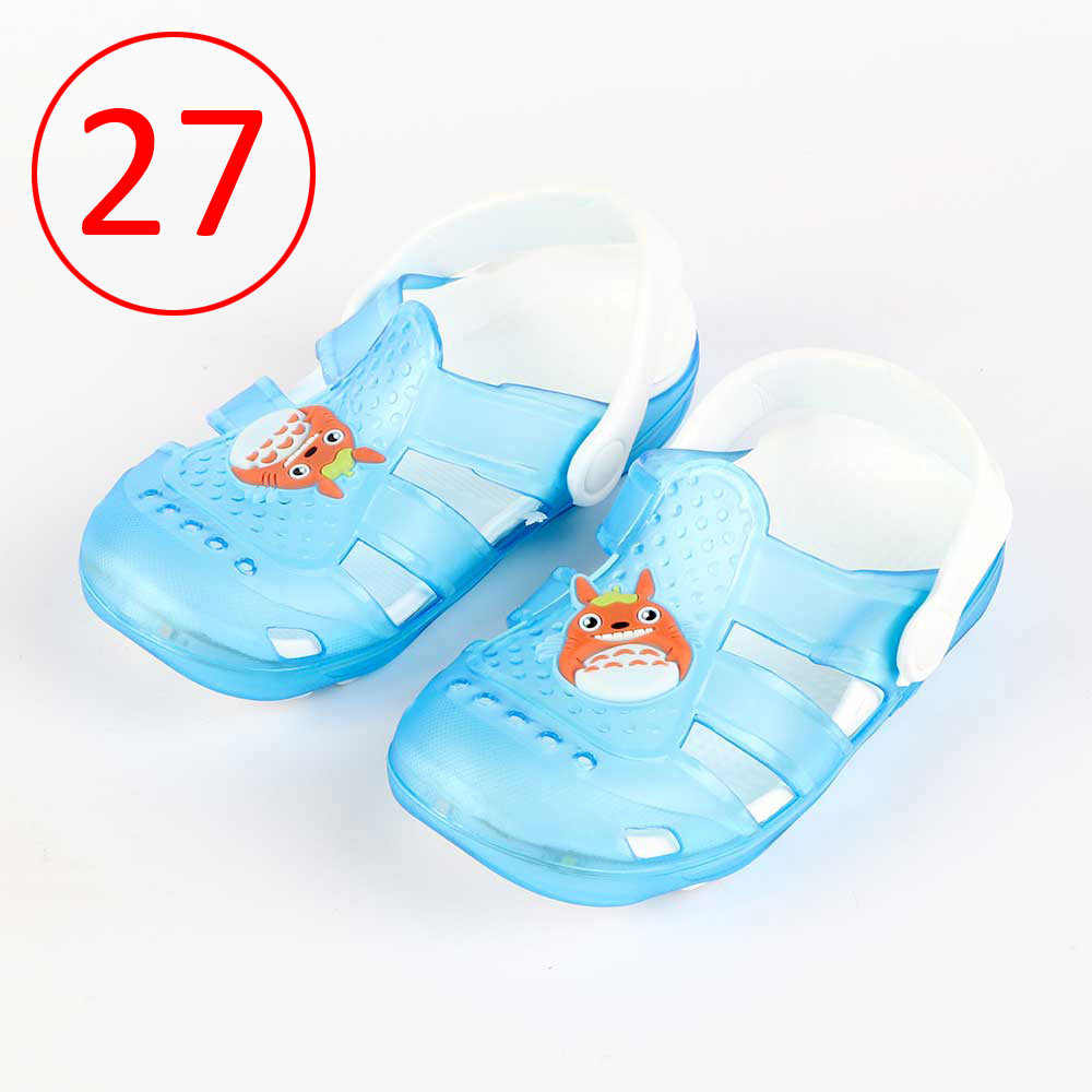Kids Slippers that lights up Size 27 Color Blue متجر 15 وأقل