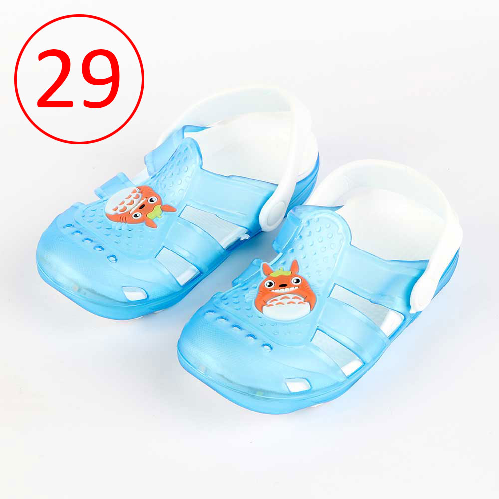 Kids Slippers that lights up Size 29 Color Blue متجر 15 وأقل
