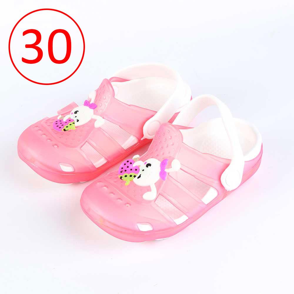حذاء كروكس للأطفال مضيئة مقاس 30 لون وردي متجر 15 وأقل