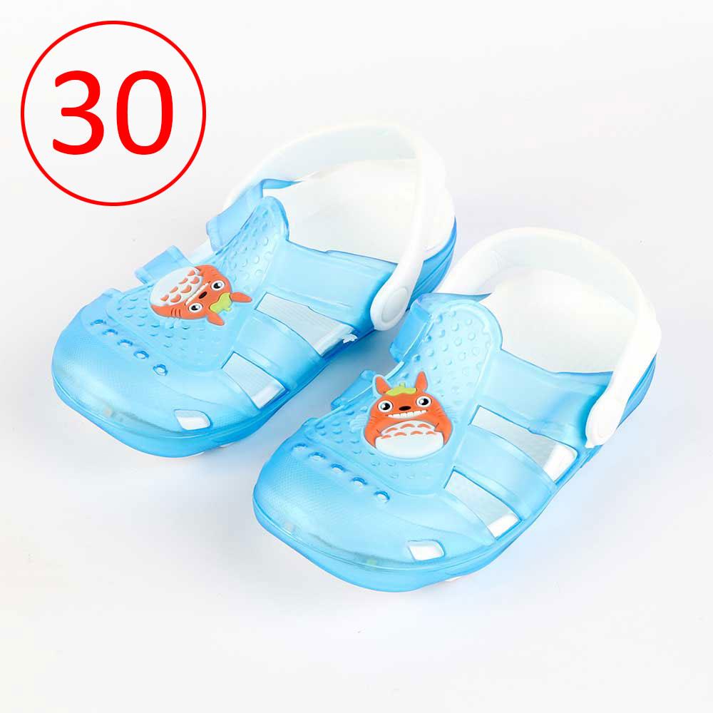 حذاء كروكس للأطفال مضيئة مقاس 30 لون أزرق متجر 15 وأقل