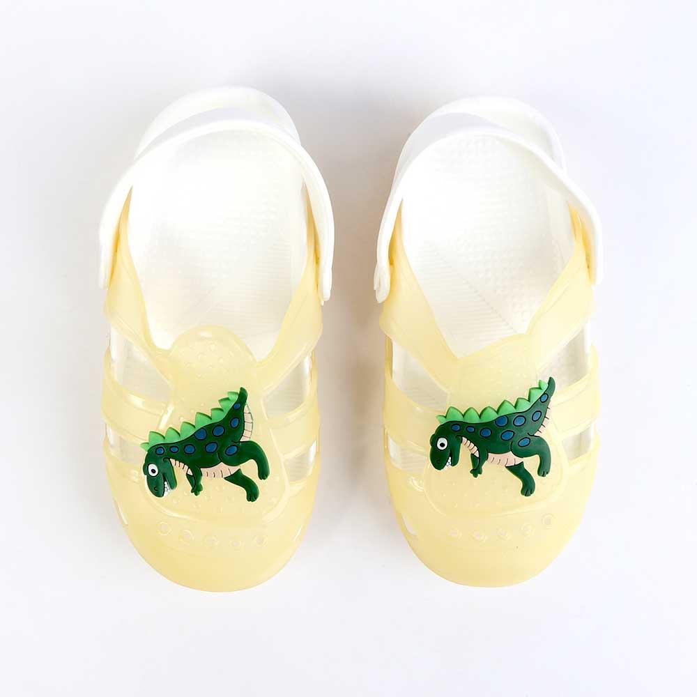 حذاء كروكس للأطفال مضيئة مقاس 30 لون أصفر متجر 15 وأقل