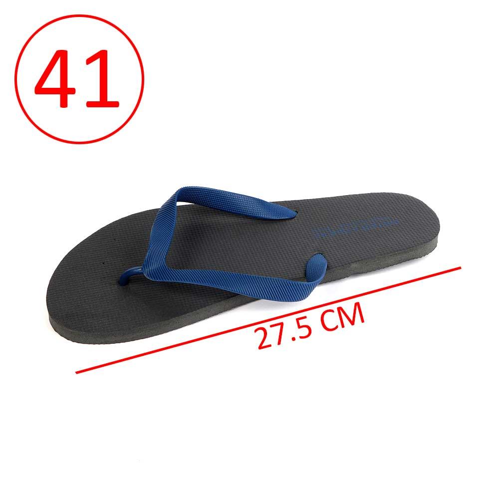 حذاء للرجال مطاط خفيف مقاس 41 لون أسود و كحلي متجر 15 وأقل