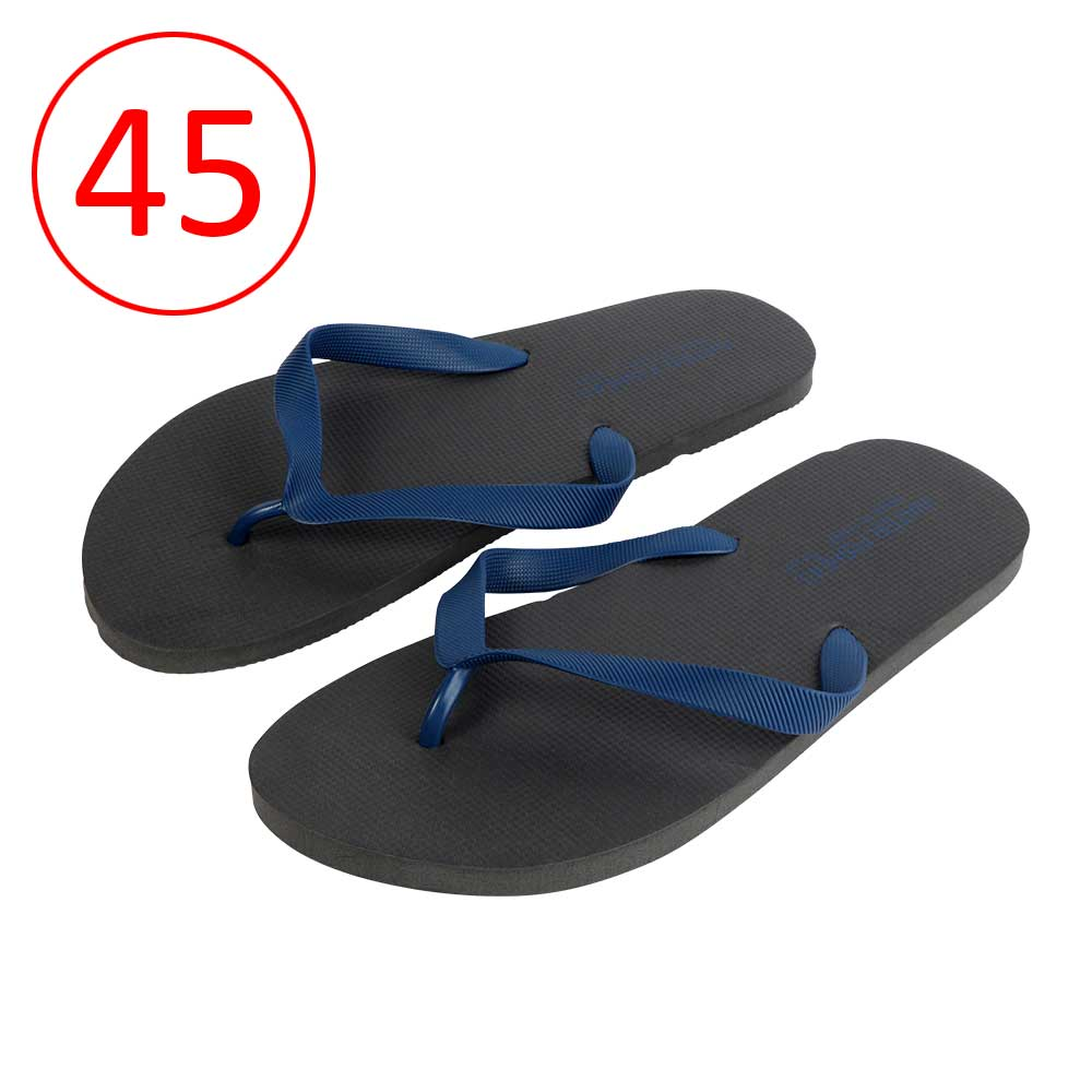حذاء للرجال مطاط خفيف مقاس 45 لون أسود و كحلي متجر 15 وأقل