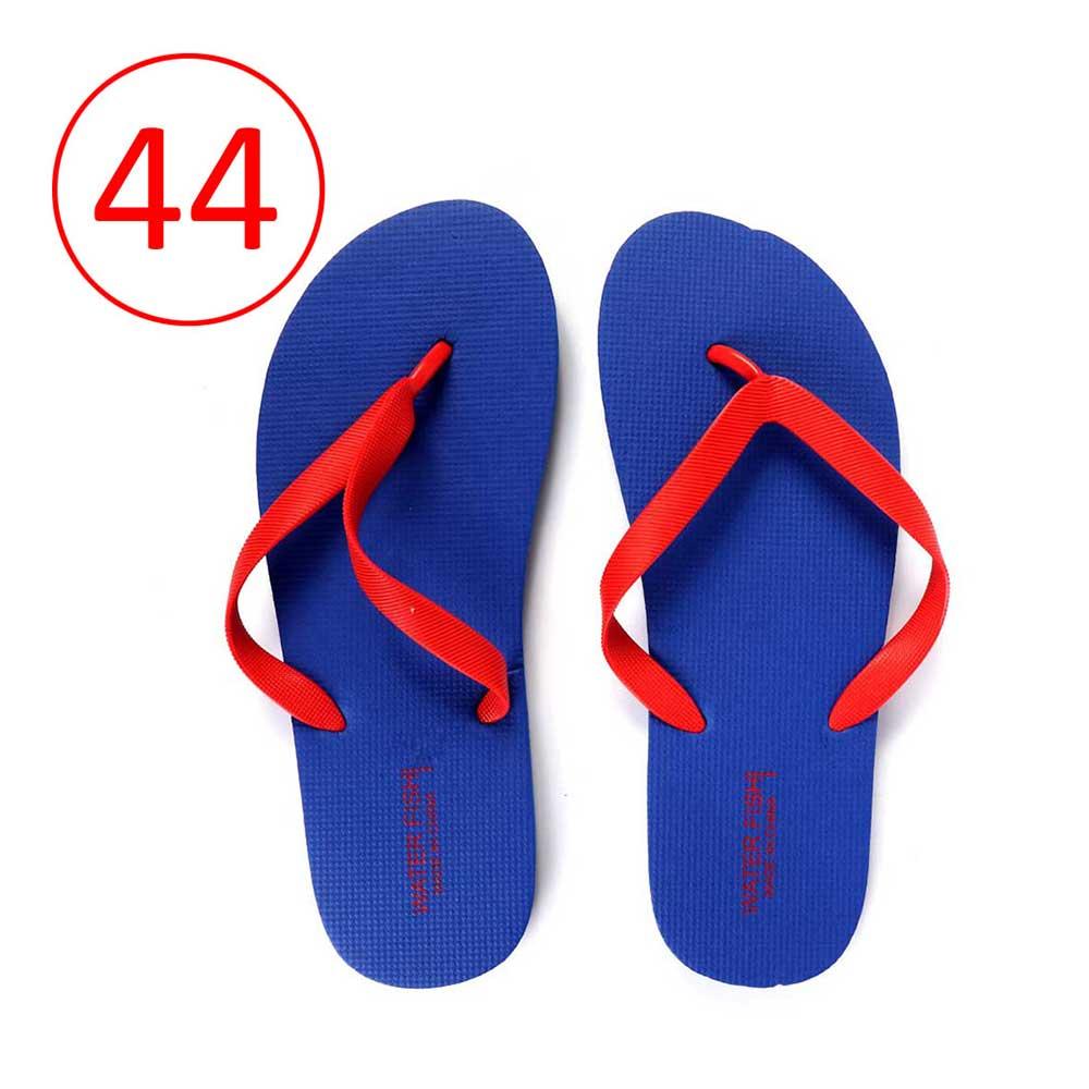 حذاء للرجال مطاط خفيف مقاس 44 لون أزرق و أحمر متجر 15 وأقل