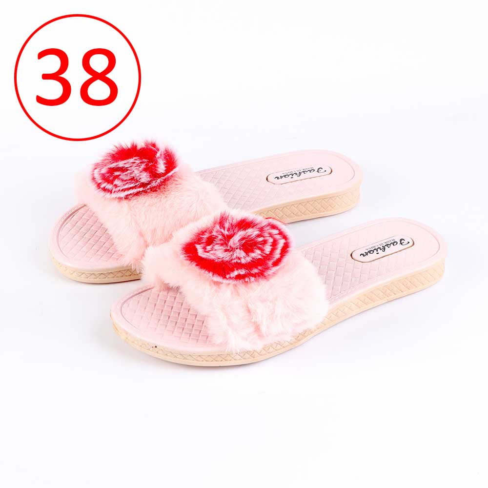 Fur Shoes For Women Size 38 Color Pink متجر 15 وأقل