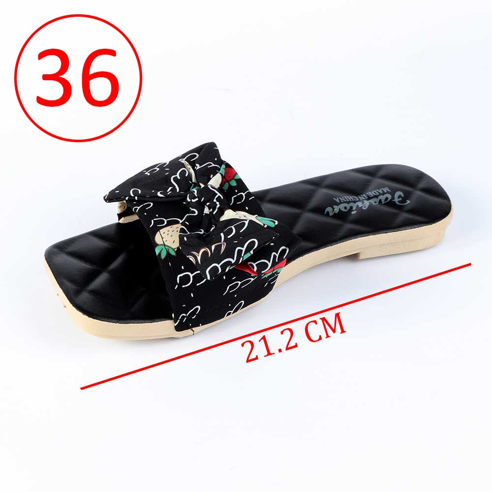 Bowknot Shoes For Women Size 36 Color Black متجر 15 وأقل