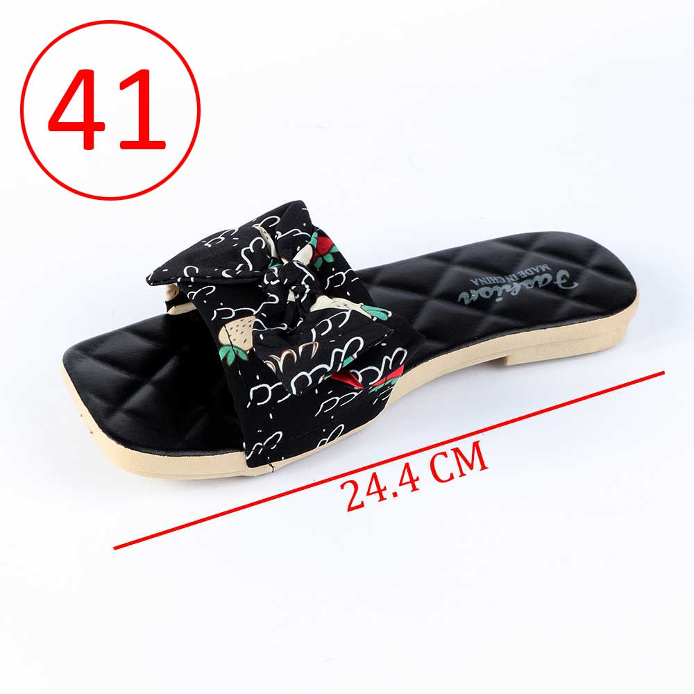 Bowknot Shoes For Women Size 41 Color Black متجر 15 وأقل