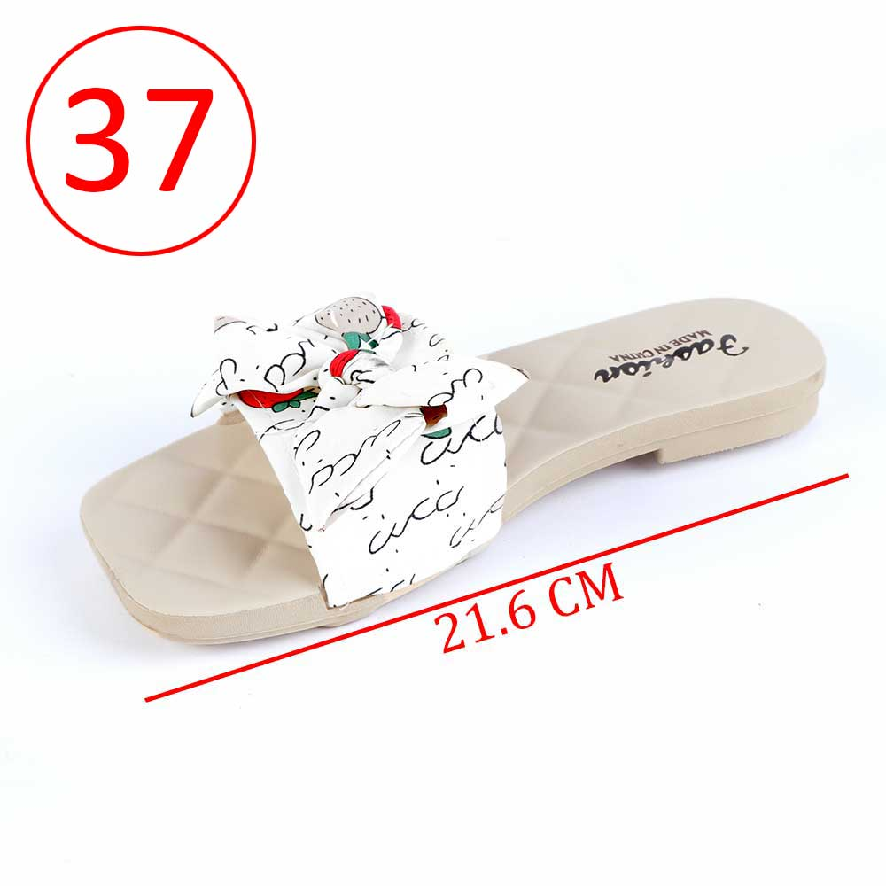 Bowknot Shoes For Women Size 37 Color White متجر 15 وأقل