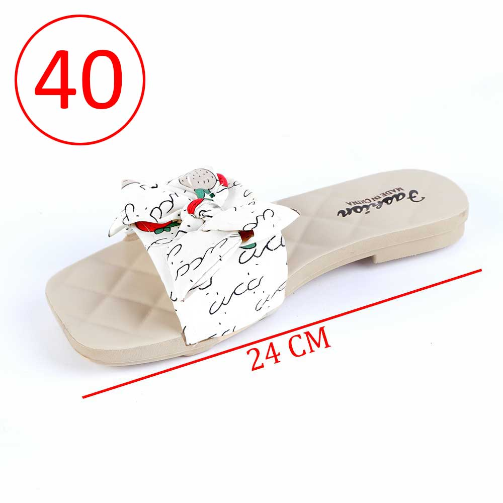 Bowknot Shoes For Women Size 40 Color White متجر 15 وأقل