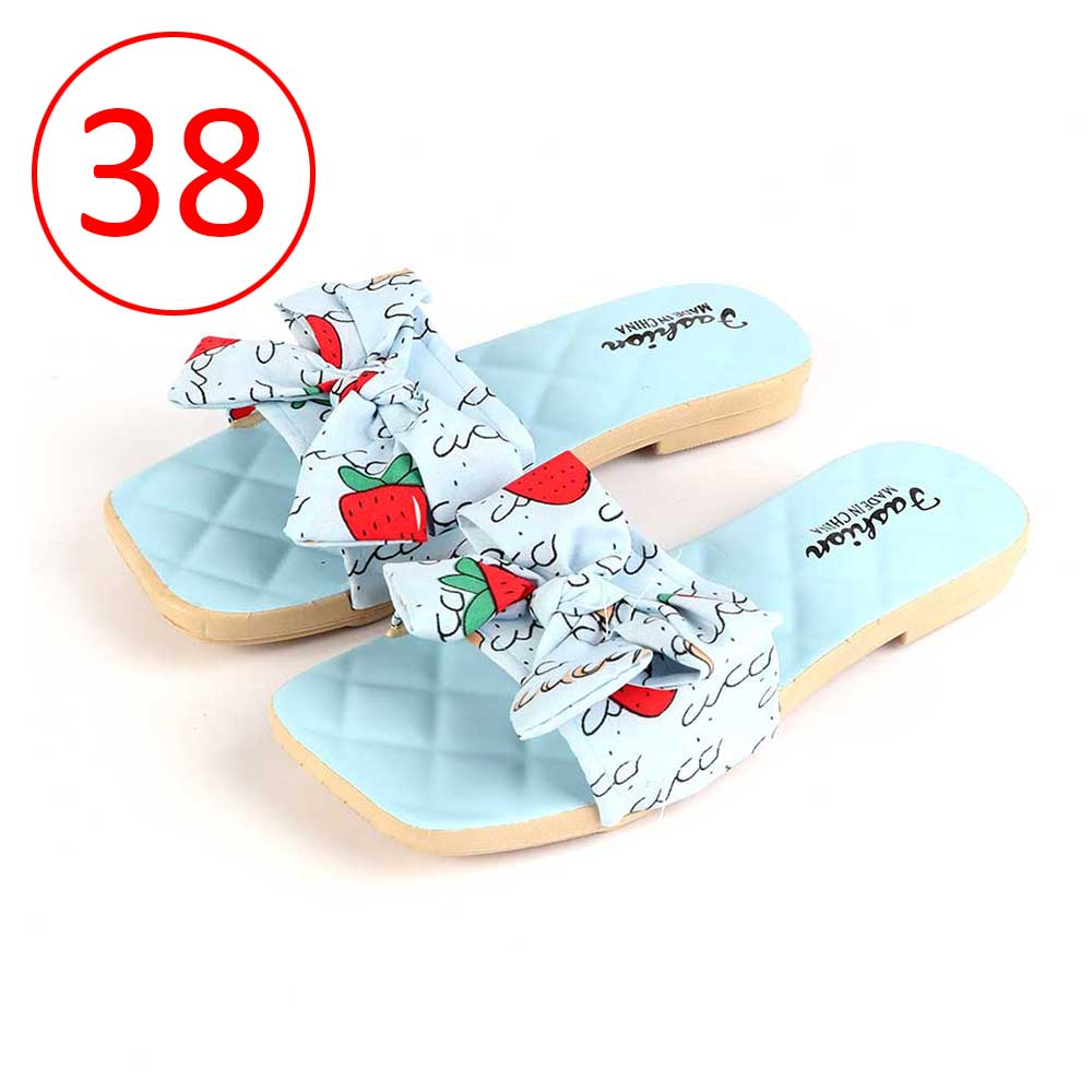 Bowknot Shoes For Women Size 38 Color Blue متجر 15 وأقل