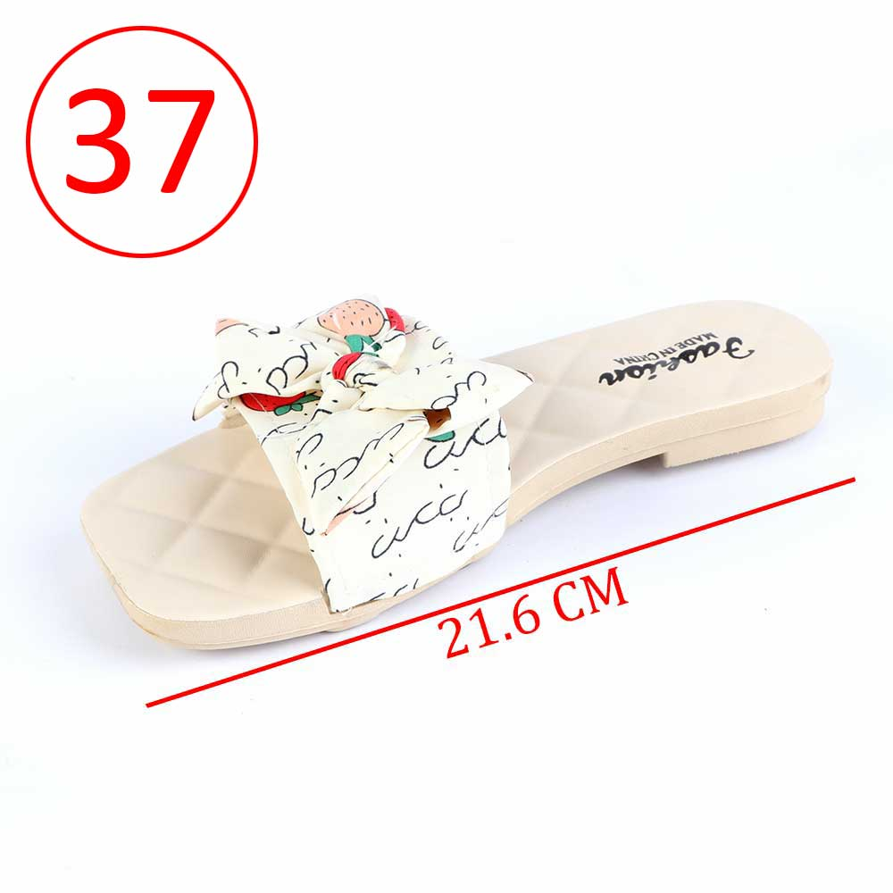Bowknot Shoes For Women Size 37 Color Beige متجر 15 وأقل
