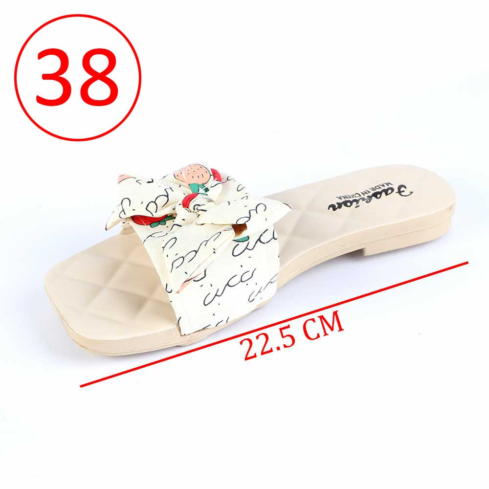 Bowknot Shoes For Women Size 38 Color Beige متجر 15 وأقل