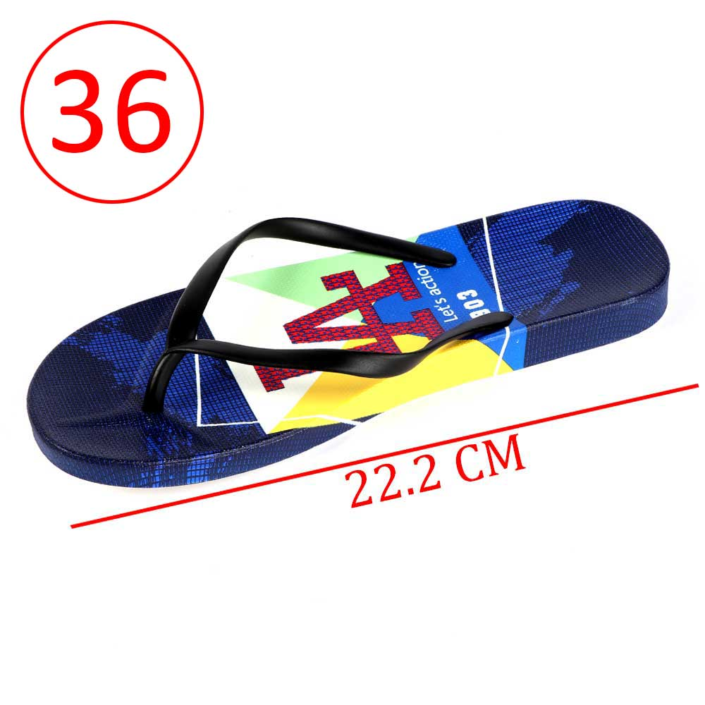 Plastic Shoes For Women With letters size 36 Color Blue and Black متجر 15 وأقل