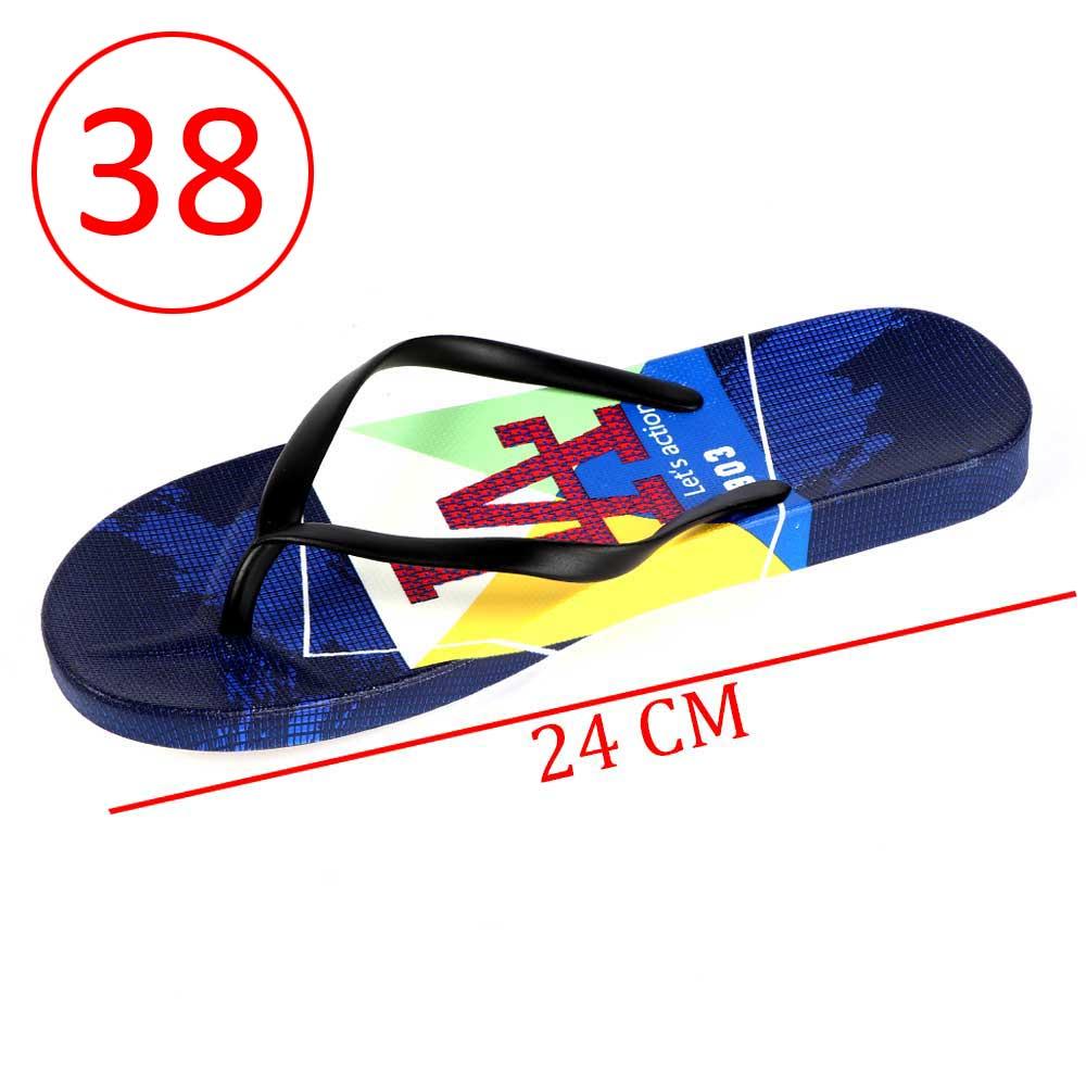 حذاء بلاستيك حروف للسيدات مقاس 38 لون أزرق و أسود متجر 15 وأقل