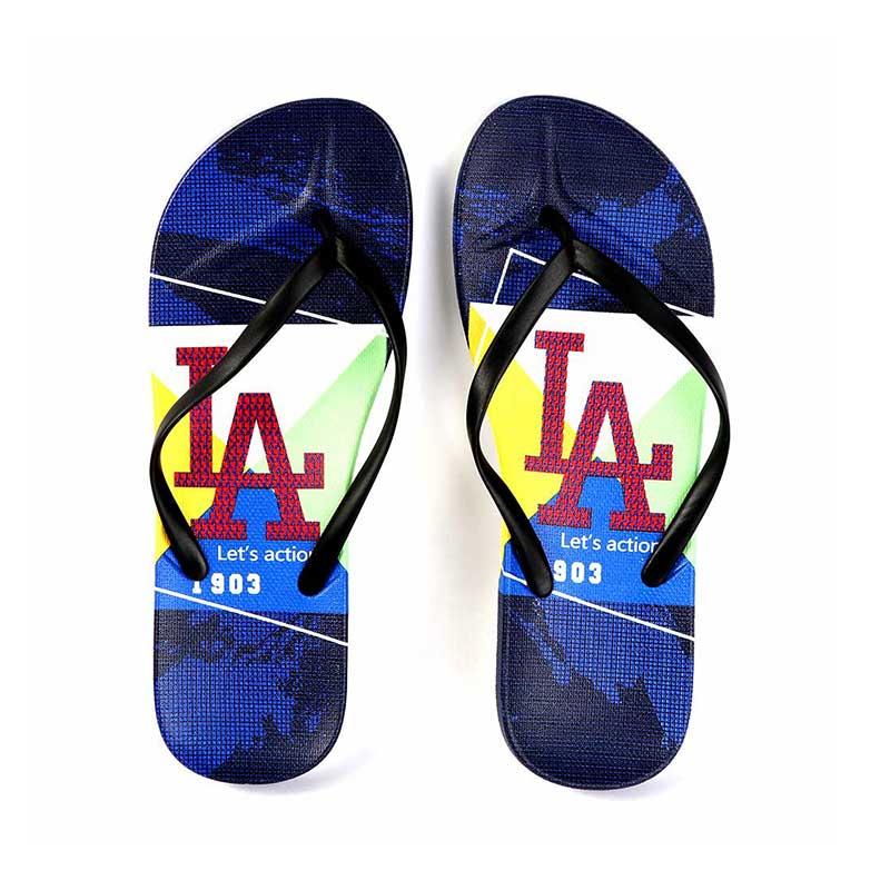 حذاء بلاستيك حروف للسيدات مقاس 39 لون أزرق و أسود متجر 15 وأقل