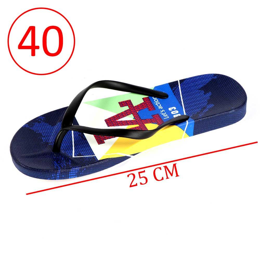 حذاء بلاستيك حروف للسيدات مقاس 40 لون أزرق و أسود متجر 15 وأقل