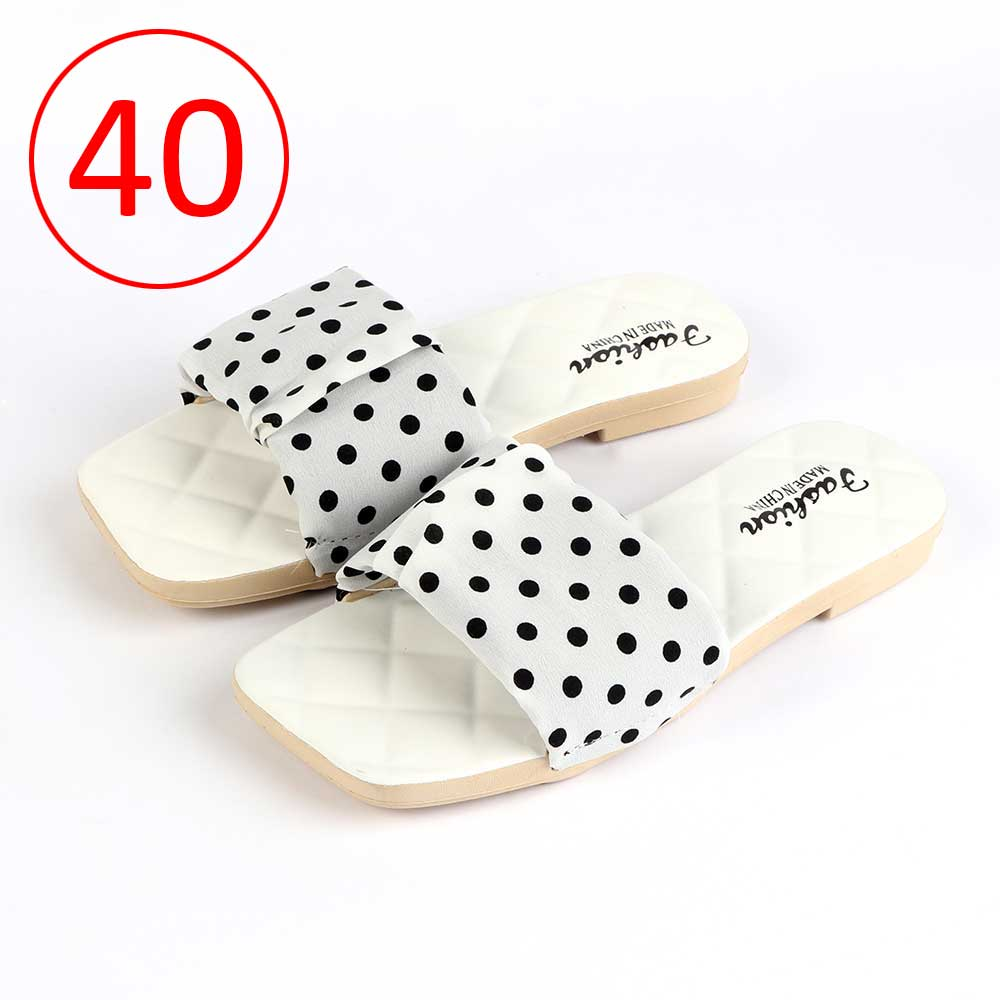 Women Shoes Dotted size 40 Color White متجر 15 وأقل