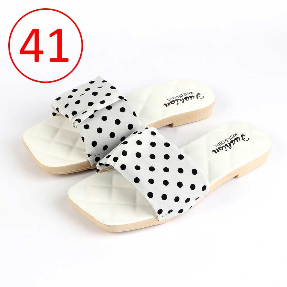 Women Shoes Dotted size 41 Color White متجر 15 وأقل