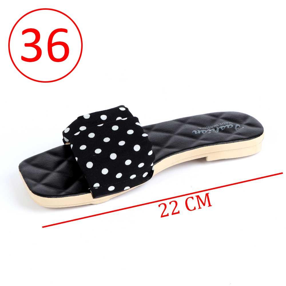 حذاء سيدات منقط مقاس 36 لون أسود متجر 15 وأقل