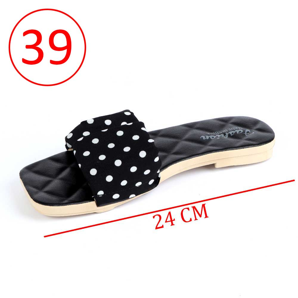 Women Shoes Dotted size 39 Color Black متجر 15 وأقل