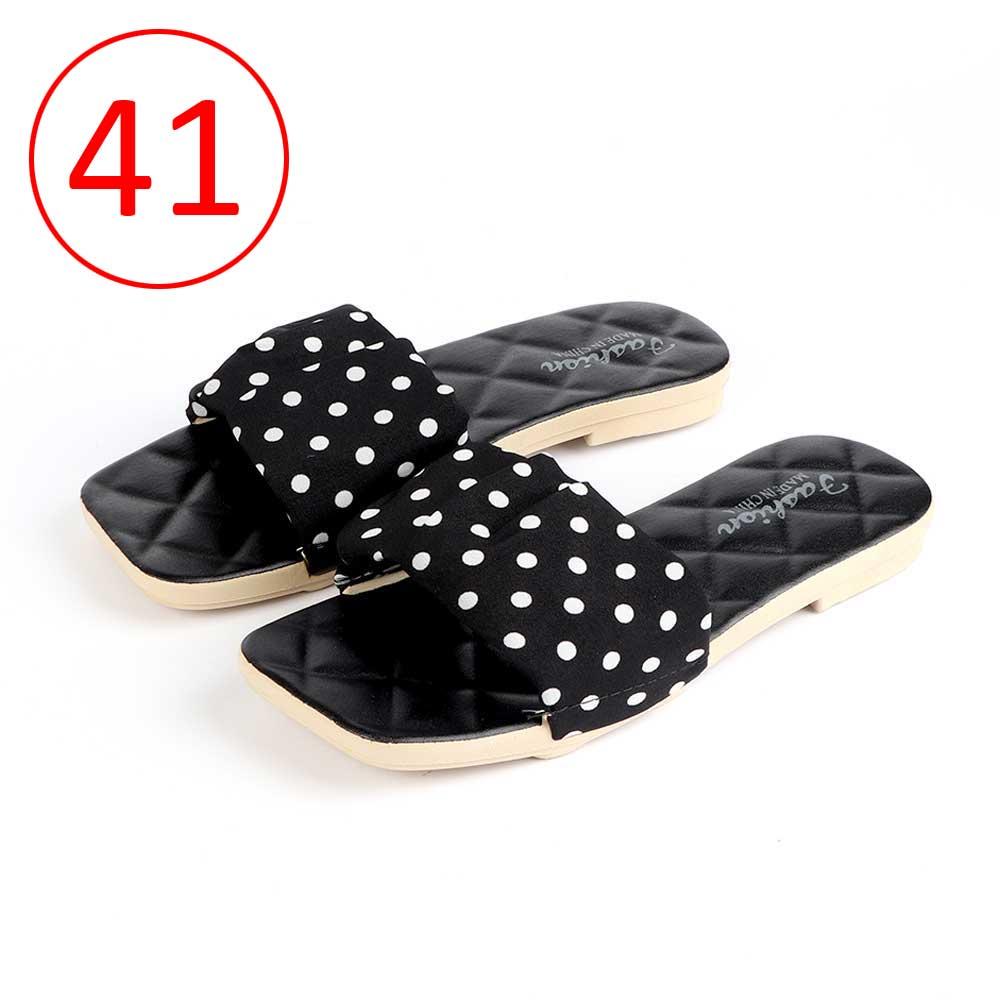 حذاء سيدات منقط مقاس 41 لون أسود متجر 15 وأقل