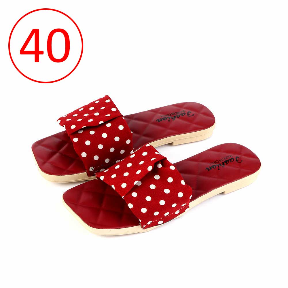 Women Shoes Dotted size 40 Color Red متجر 15 وأقل