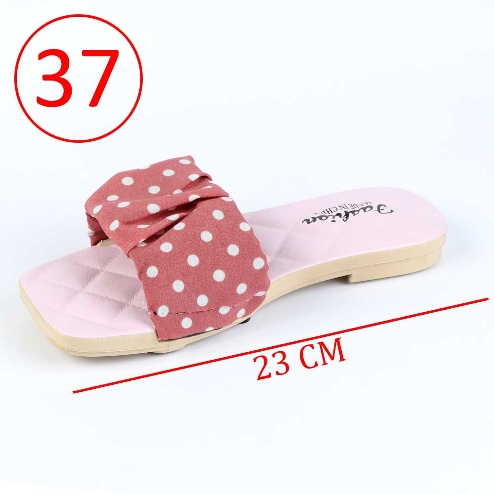 Women Shoes Dotted size 37 Color Pink متجر 15 وأقل