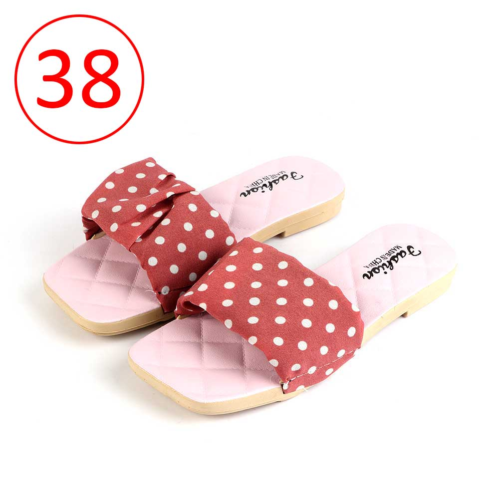 Women Shoes Dotted size 38 Color Pink متجر 15 وأقل