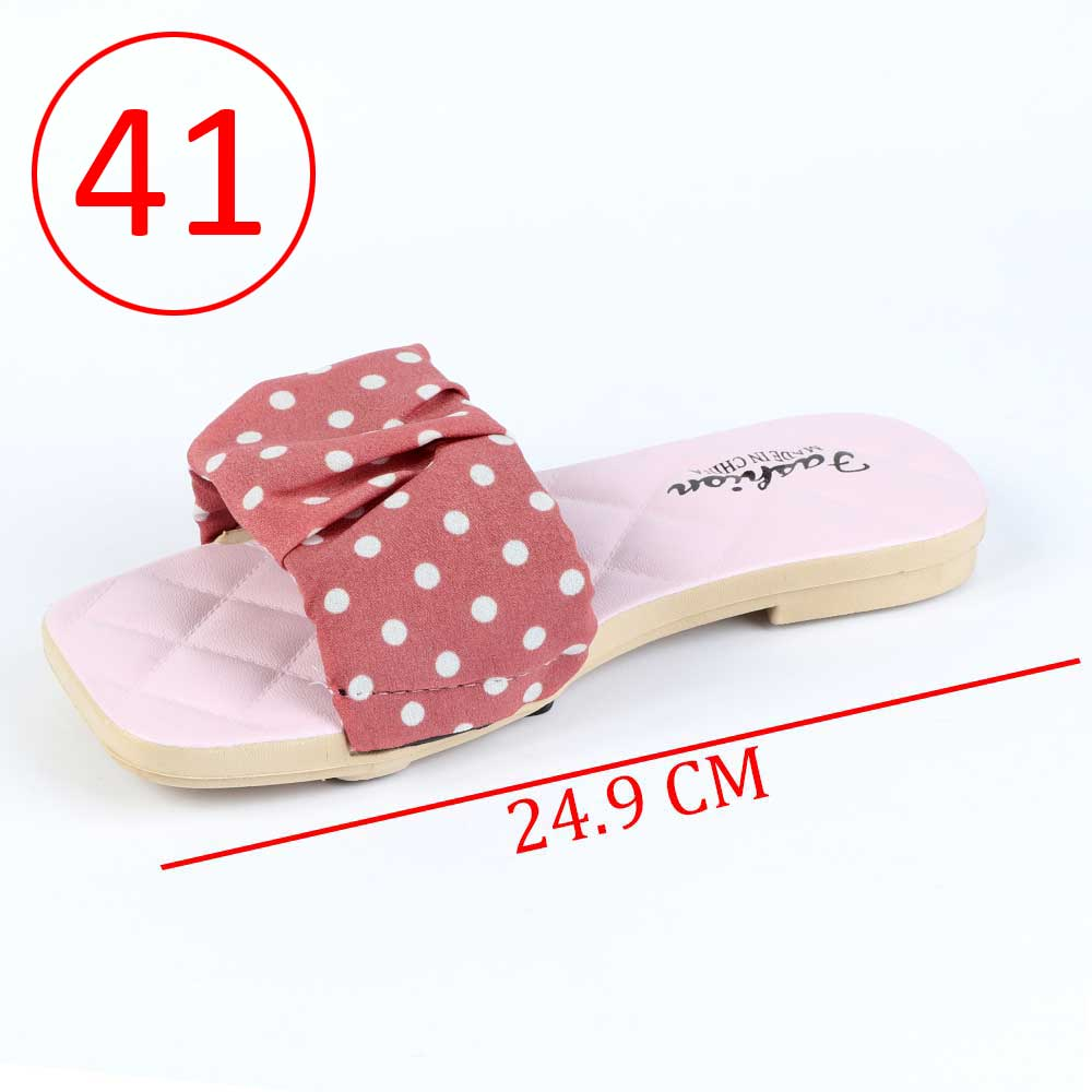Women Shoes Dotted size 41 Color Pink متجر 15 وأقل
