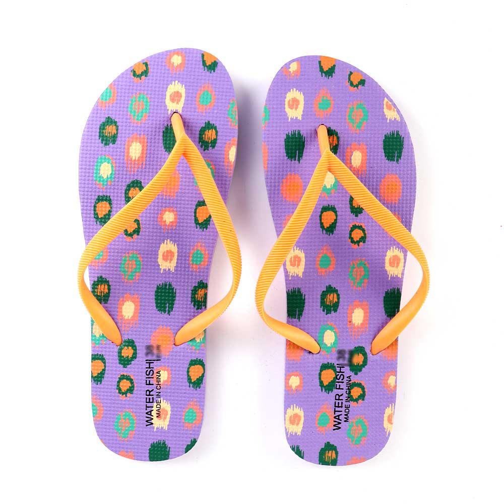 حذاء سيدات بنقاط ملونة مقاس 40 لون بنفسجي متجر 15 وأقل