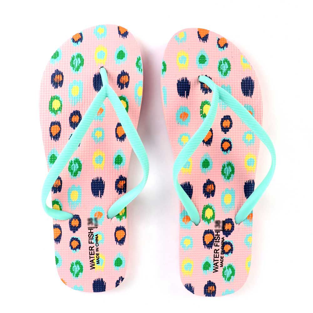 حذاء سيدات بنقاط ملونة مقاس 39 لون وردي متجر 15 وأقل