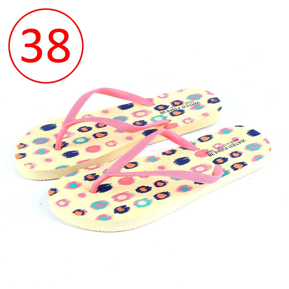 Women Shoes With Colored Dots Size 38 Color Yellow متجر 15 وأقل