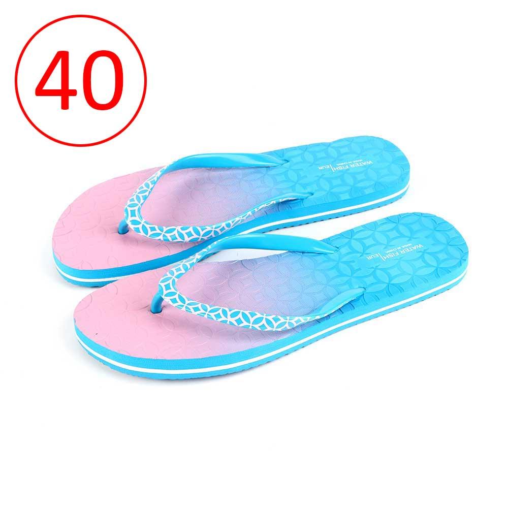 حذاء لونين للسيدات مقاس 40 لون أزرق و وردي متجر 15 وأقل