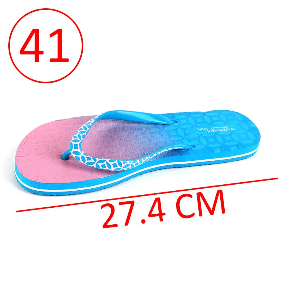 Two-Color Shoes For Women Size 41 - Color Blue and Pink متجر 15 وأقل