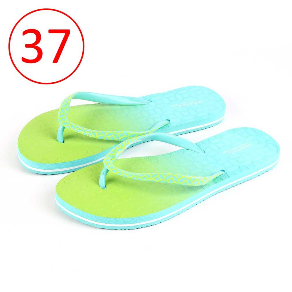 حذاء لونين للسيدات مقاس 37 لون أخضر و أزرق متجر 15 وأقل