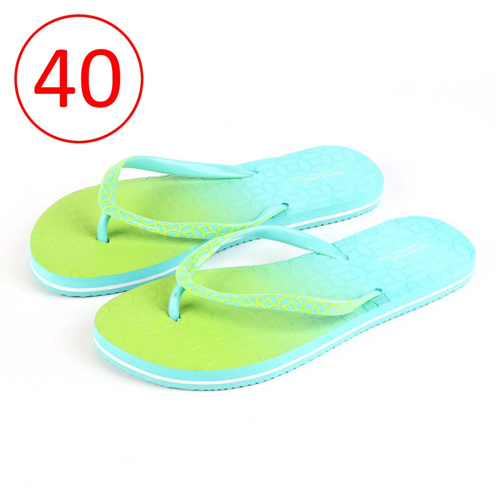 Two-Color Shoes For Women Size 40 - Color Green and Blue متجر 15 وأقل