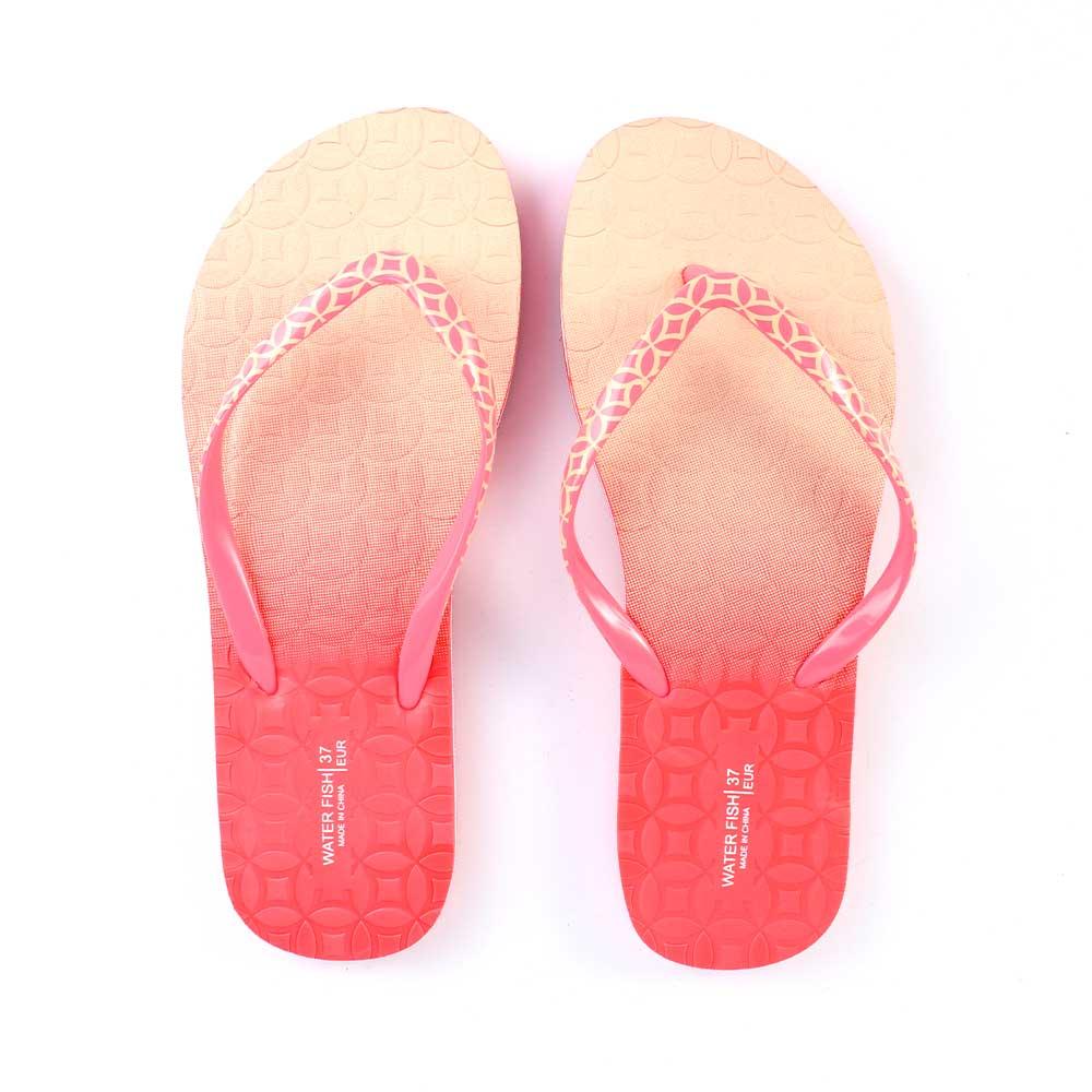 حذاء لونين للسيدات مقاس 37 لون بيج و وردي متجر 15 وأقل