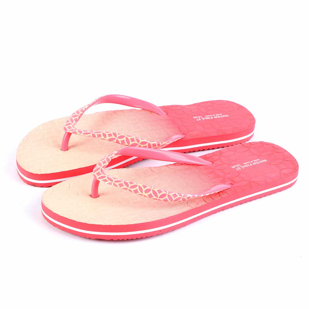 Two-Color Shoes For Women Size 41 - Color Beige And Pink متجر 15 وأقل