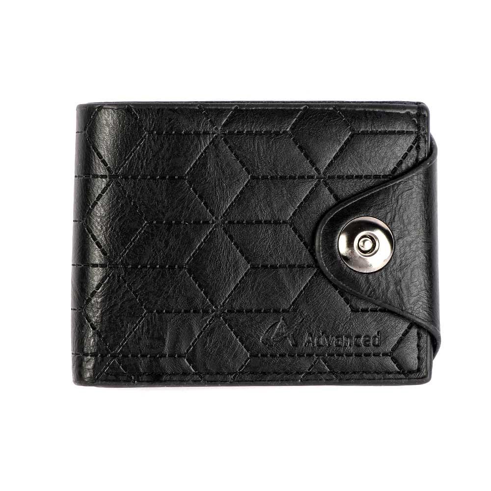 محفظة رجالية لون أسود متجر 15 وأقل