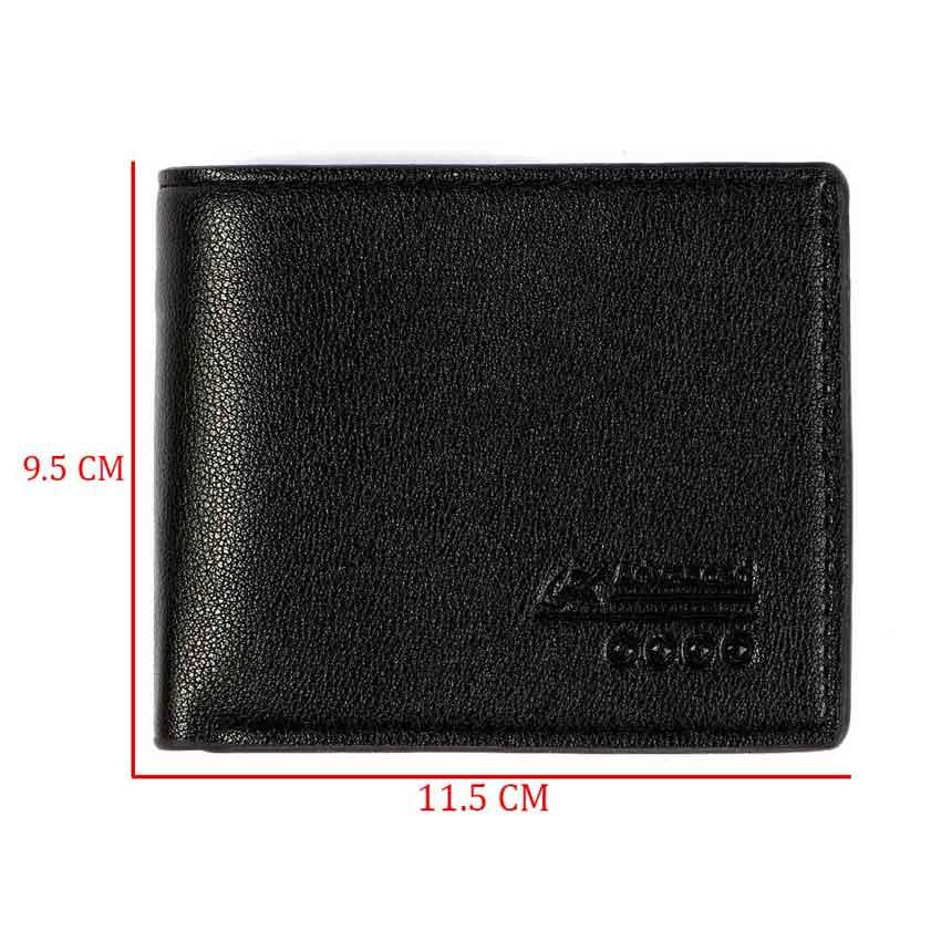 Large men's wallets black color متجر 15 وأقل