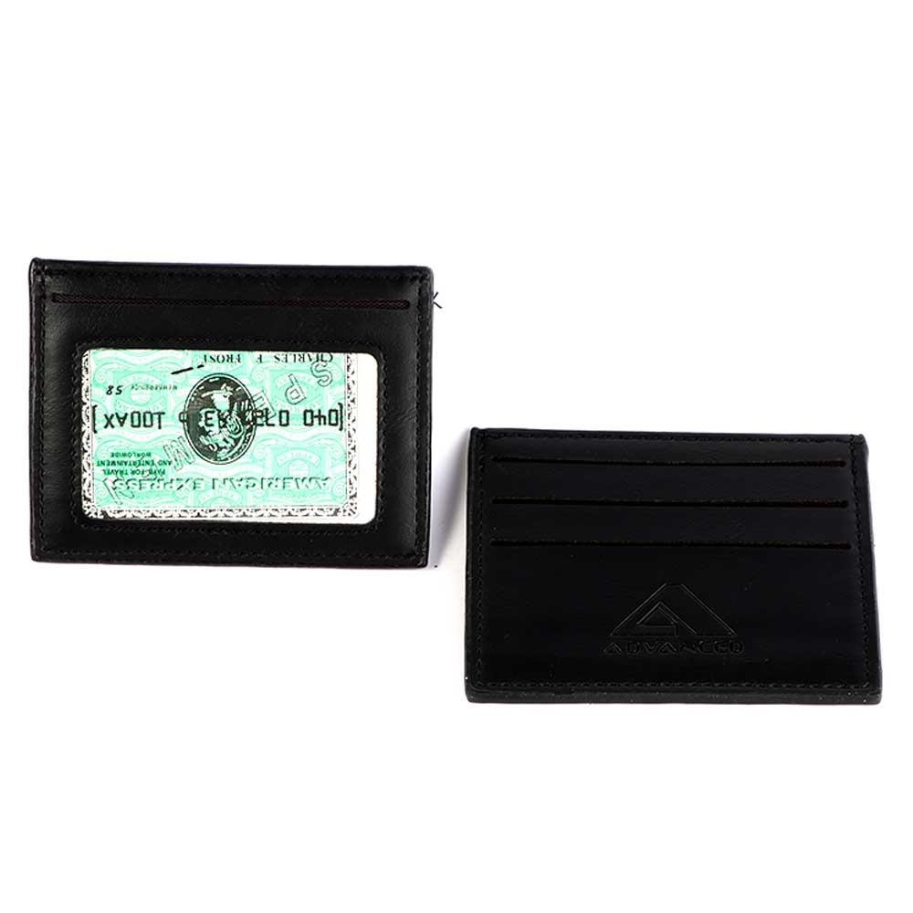 Men's wallets for cards black color متجر 15 وأقل