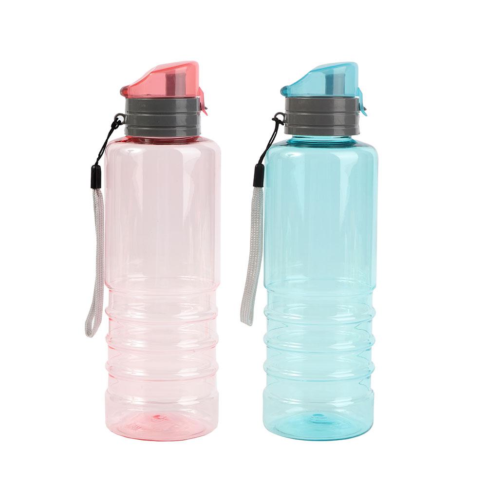زمزمية بلاستيكية لون أزرق و وردي-قطعتين متجر 15 وأقل
