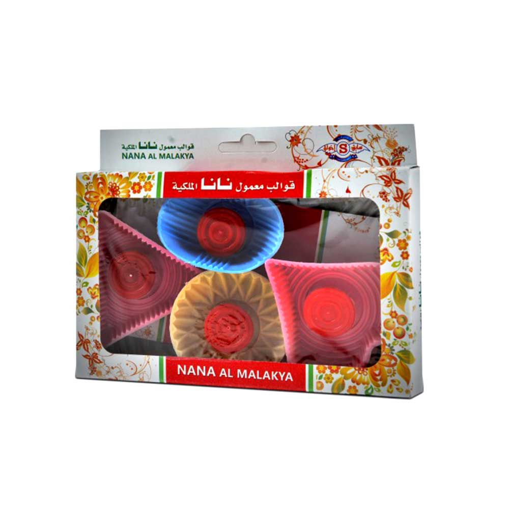 Plastic Maamoul Molds Of Different Shapes 4-Pieces متجر 15 وأقل