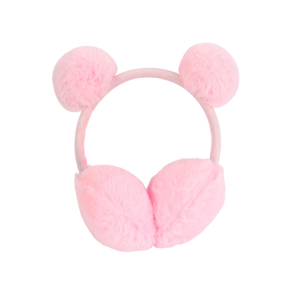 Fur Earmuffs For Children Color Pink متجر 15 وأقل