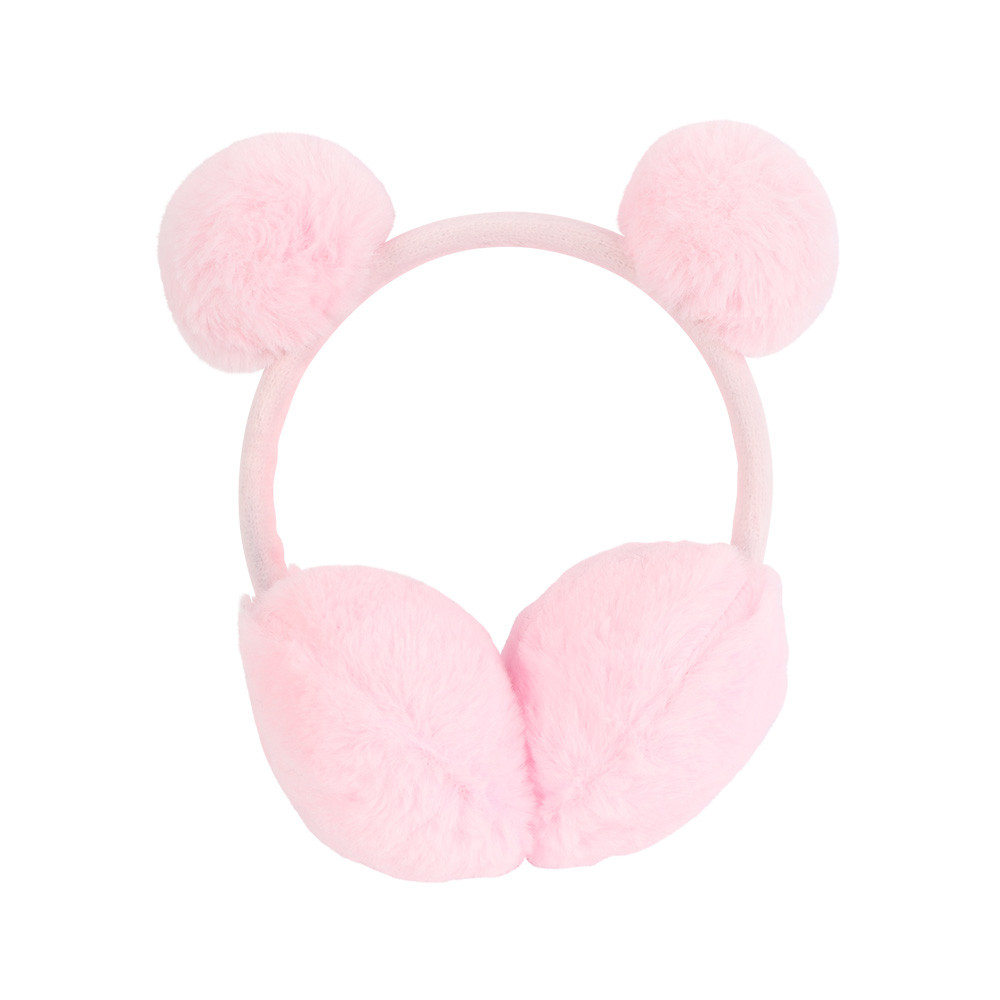 Fur Earmuffs For Children Color Light Pink متجر 15 وأقل