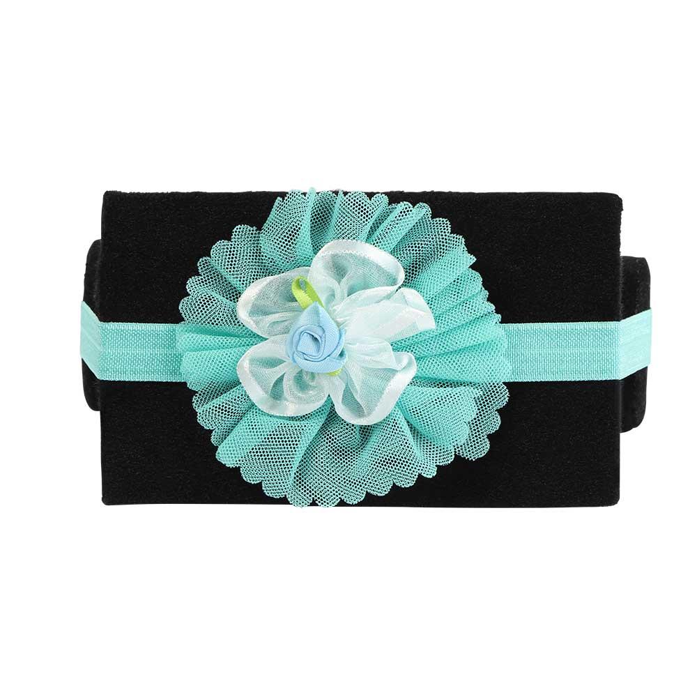 ربطة راس بناتي مزين بورد لون تفاني متجر 15 وأقل