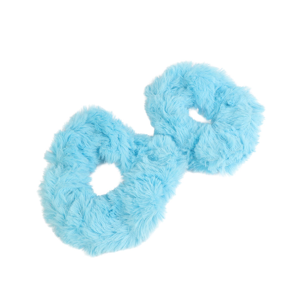 Fur Hair Ties Color Blue Two Pieces متجر 15 وأقل